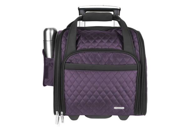 TRAVELON WHEELED UNDERSEAT Carry On Bag 14