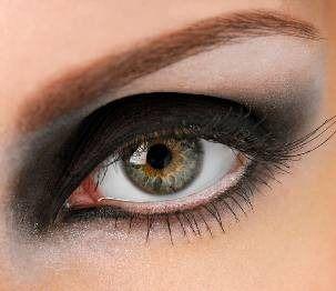 Maquillaje para los Ojos Saltones