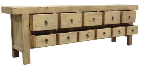 Dragon 11 Drawer Buffet. A Block and Chisel Product.