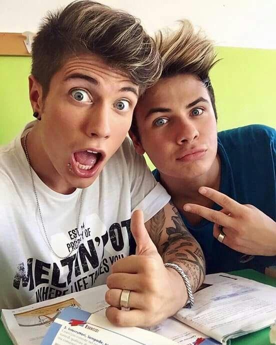 Benjamin and Federico