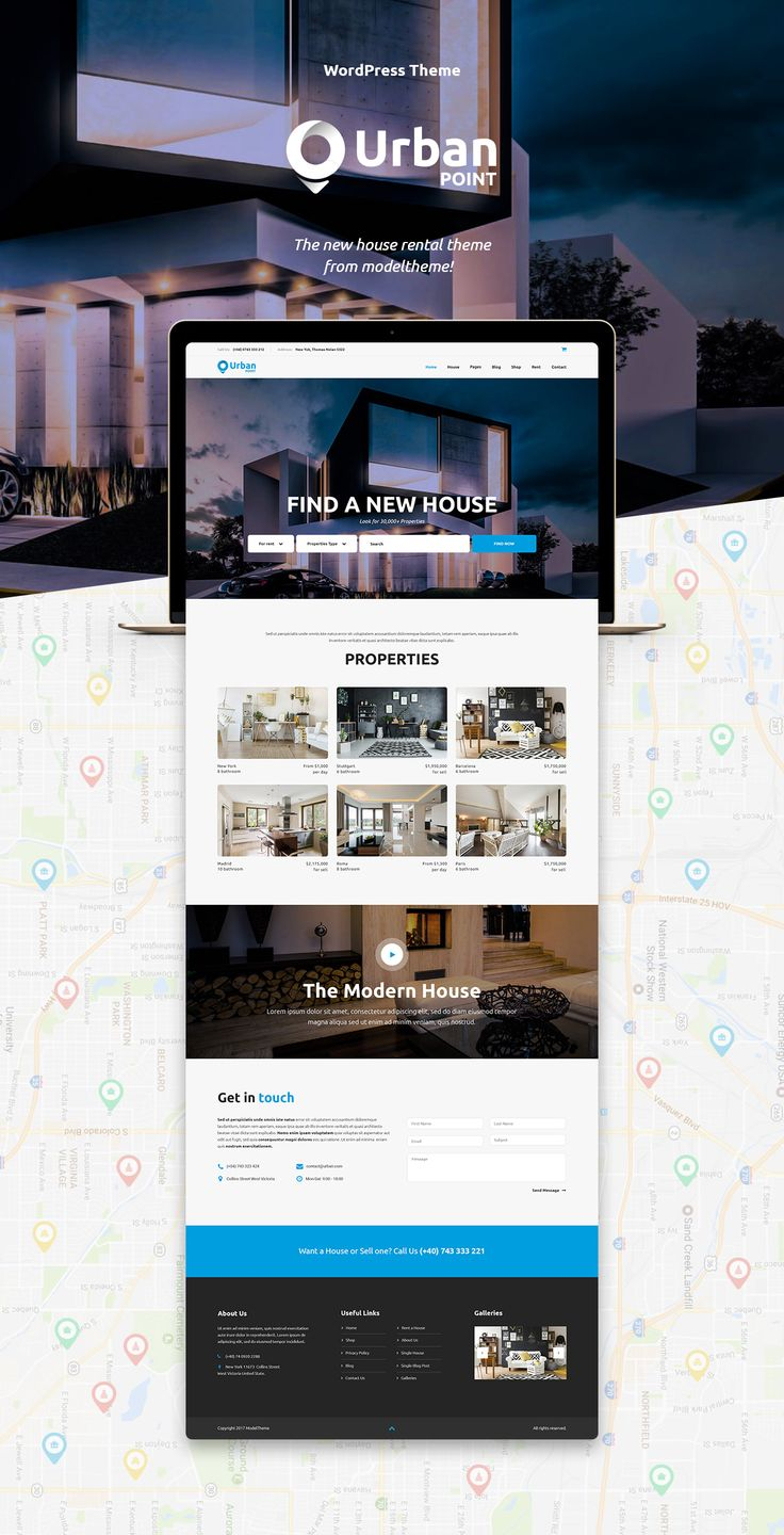 UrbanPoint - House Selling & Rental WordPress Theme by modeltheme | ThemeForest