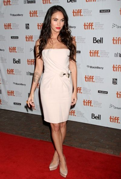 Megan Foxs sexy style at the Toronto Film Festival