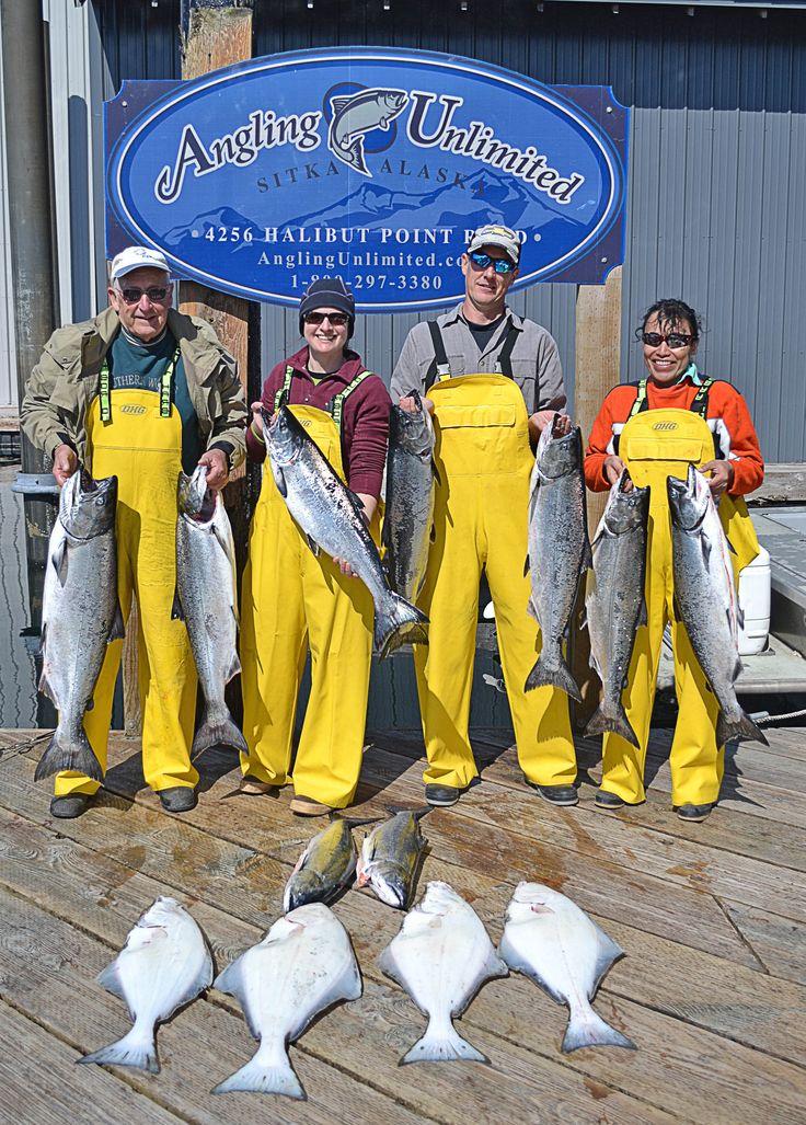Sitka Fishing Report 5/9: Limits of kings to kick off the season! #alaskacharterfishing #sitka #kingsalmon