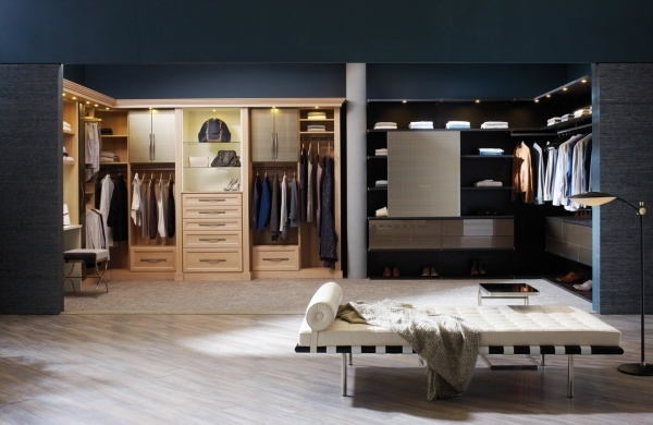 Pin by ashley bishop on house pinterest for His and hers walk in closet designs