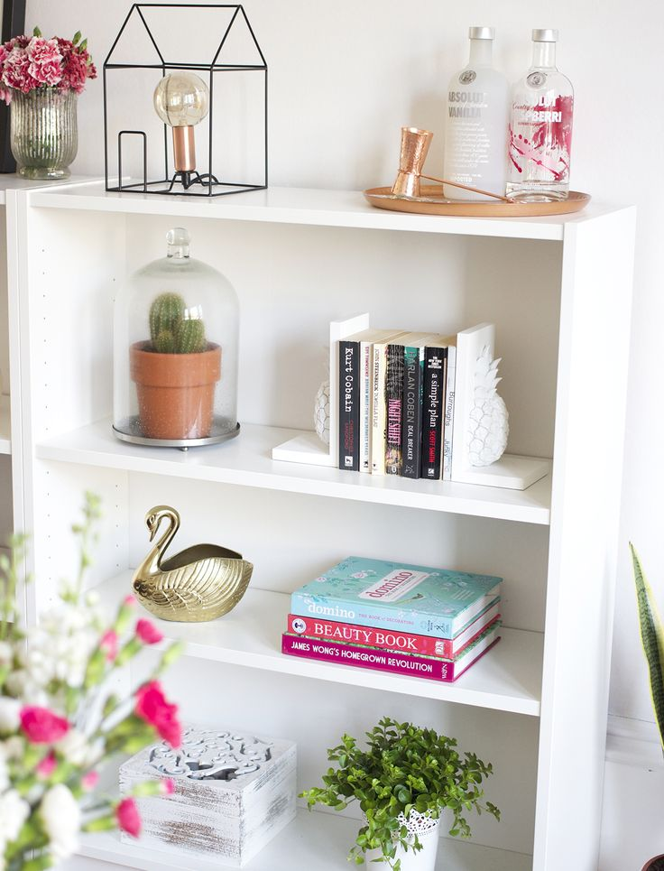 Updating a Blank Space. - display and shelving inspiration - ghostparties