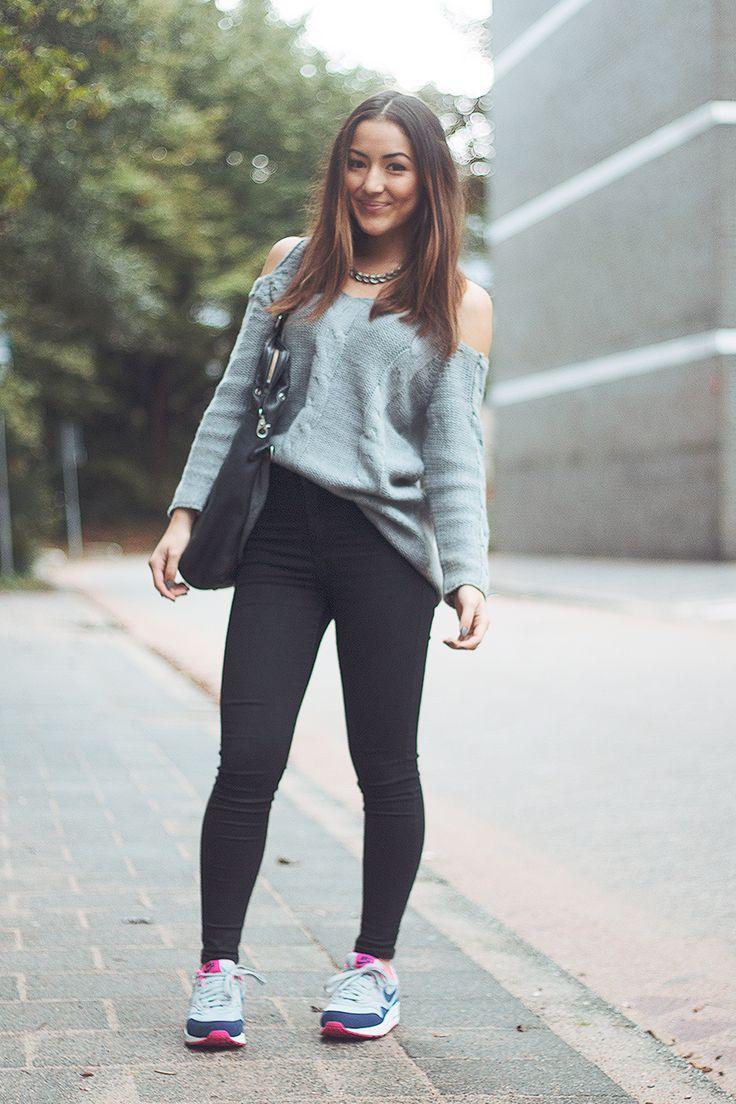 Outfit grijze broek