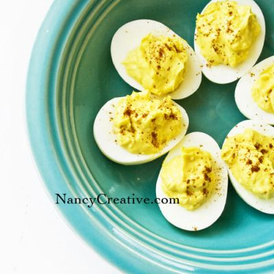 Original Pin: Classic Deviled Eggs | NancyCreative My Opinion: good ...