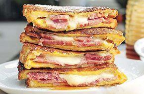 Křupavý sendvič ,,Monte Cristo,, | NejRecept.cz