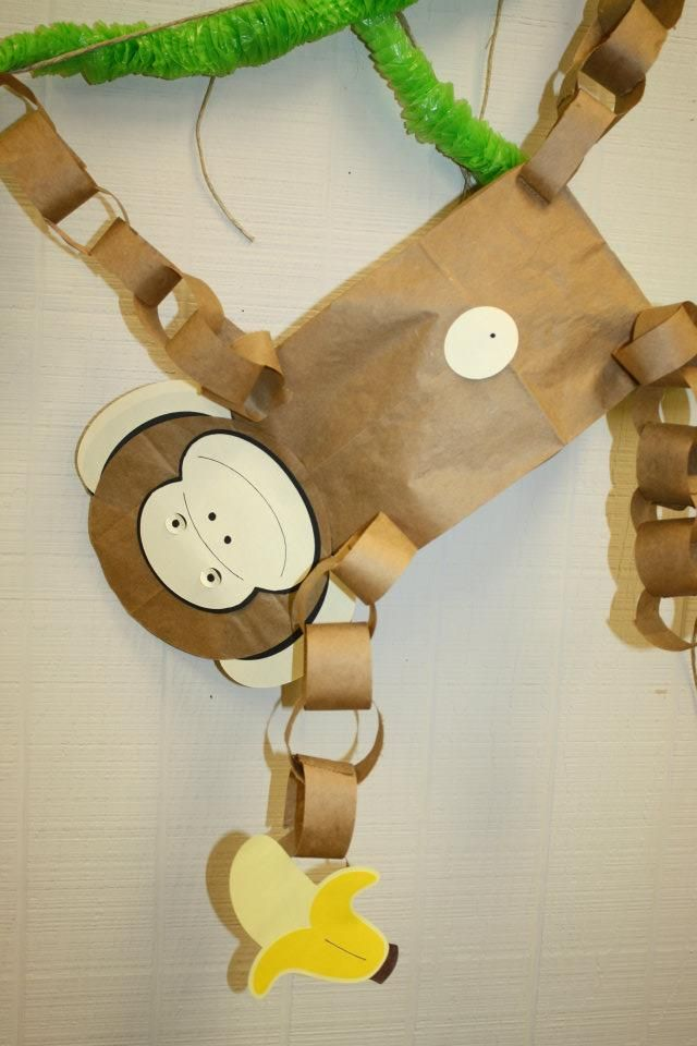 1000 ideas about rainforest theme on pinterest for Monkey decorations