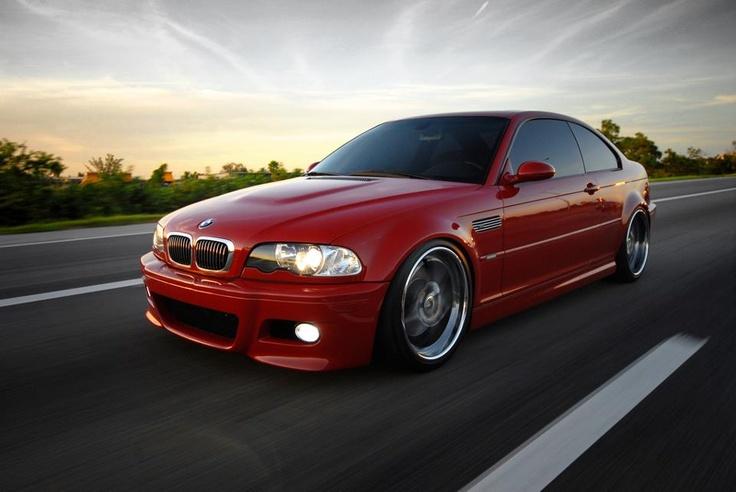 BMW E46 M3 - Imola Red
