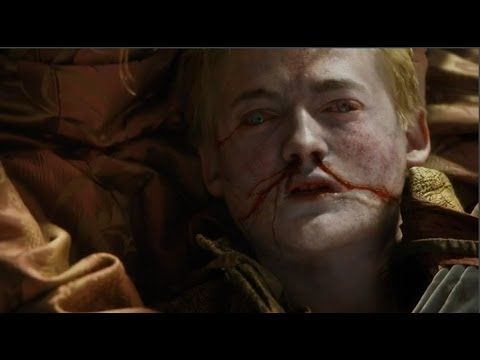 Joffrey Baratheon Death - OFFICIAL - (Joffrey dies) - I can watch this over and over and over again!!!