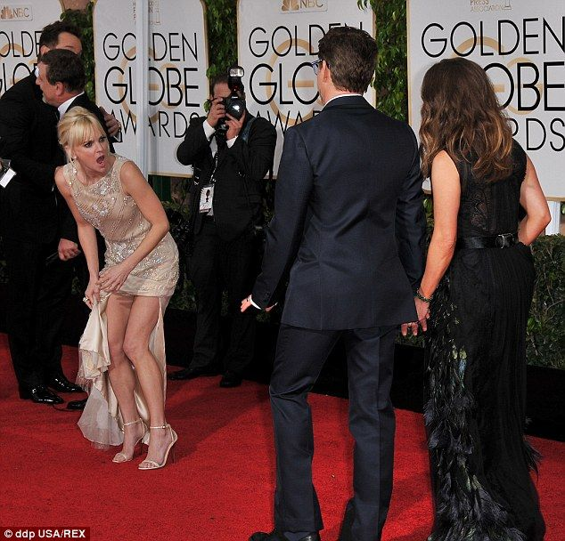 Joking around: Anna Faris was spotted shouting at Robert Downey Jr. and his wifeSusan as ...
