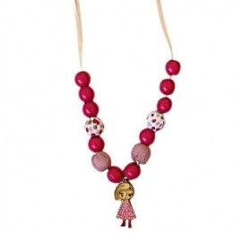 Lollypink and Pink - Sleeping Jane Necklace