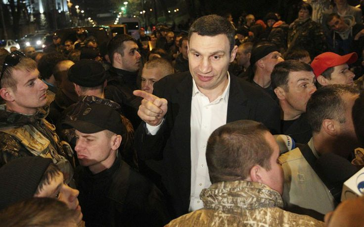 Ukraine: Vitali Klitschko pulls out of presidential race - THE TELEGRAPH #Ukraine, #Klitschko