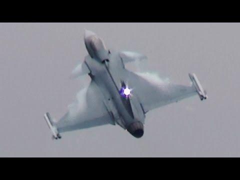 RIAT 2014 JAS39C Gripen Swedish Air Force 13th July The Royal Internatio...