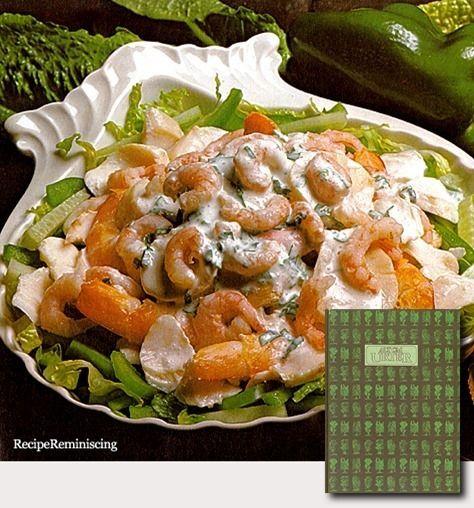 Shellfish Salad with Tarragon / Skalldyrsalat med Estragon