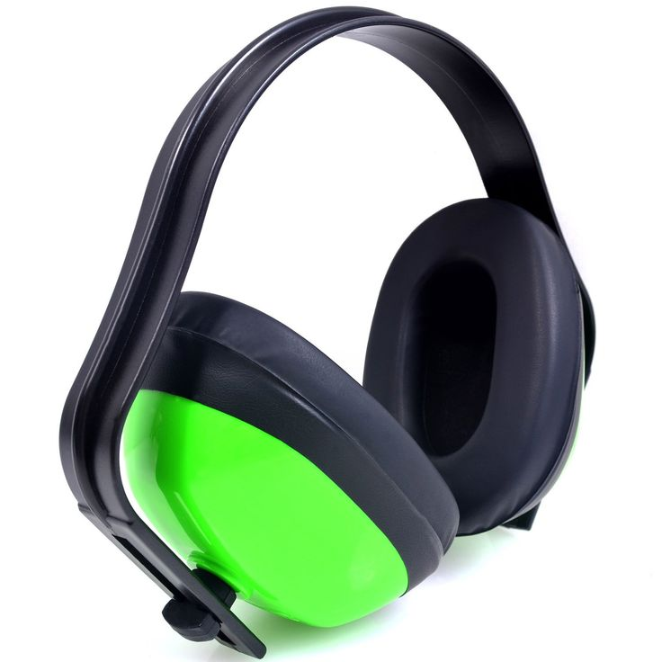 Hearing Protection Ear Muffs (SUPER COMFORTABLE EAR PROTECTION) Reduce Sound by 22DB - Over The Ear - Compact Foldable Design - Perfect for Firearm Shooting, Hunting, Construction, and More!