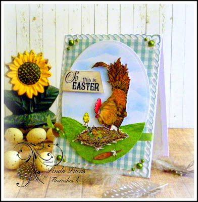 Lovely Linda's Craft Central!!: Flourishes LC March/April New Release - Day 5 So this is Easter  Flourishes, lcFlourishes, lc  @flourisheslccom  @spellbinders   @imaginecrafts    @want2scrapco    @SBAdhesivesby3L #teamspellbinders #platinum6 #diy #handmade #craft #paperart #embossing ##fllc #marchaprilnewrelease  #lovelylinda #lindalucas #linda #sothisiseaster @chameleonpens  #teamspellbinders