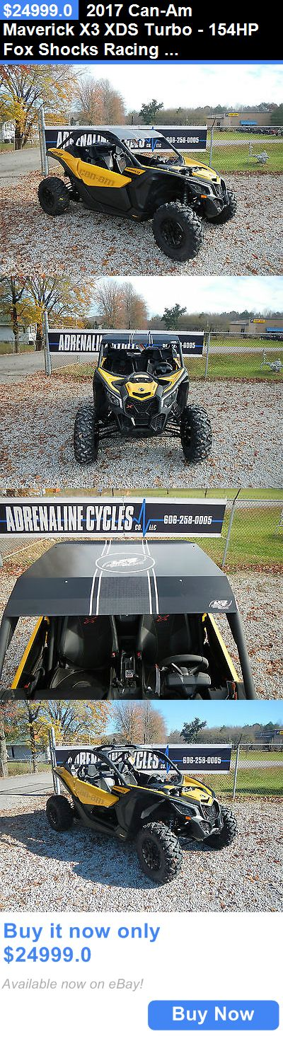 atvs utvs snowmobiles: 2017 Can-Am Maverick X3 Xds Turbo - 154Hp Fox Shocks Racing Wheel Base #460A-Jt BUY IT NOW ONLY: $24999.0