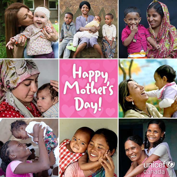 Happy Mother's Day to every strong, selfless mom around the world! <3 Be sure to tell the mom(s) in your life that you love her. (We don't say it enough!)