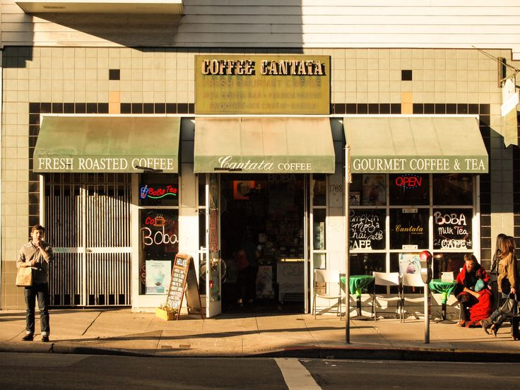 Coffee Cantata on Haight Street in San Francisco #coffeeshops #travel #food #drink #coffee