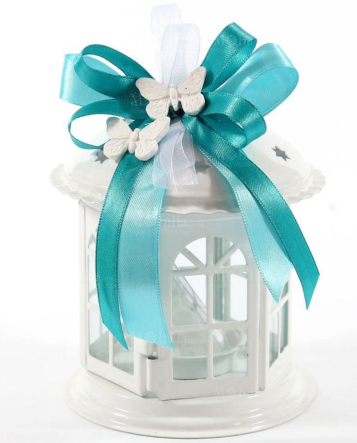 Lanterne Bomboniere con Farfalle con bellissime stelle intagliate, pronta da dare ai vostri invitati. Scopri i prodotti in promozione su Mobilia Store.