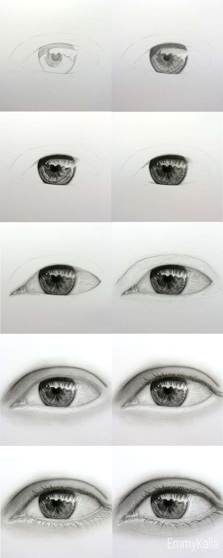 How To Draw A Realistic Eye Step By Step Video