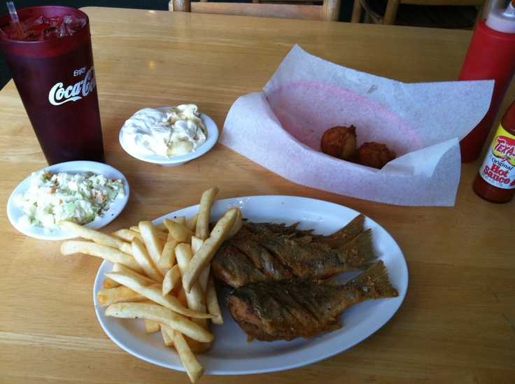 Yum spot are in season at batson 39 s galley family for Carolina fish fry wilmington nc