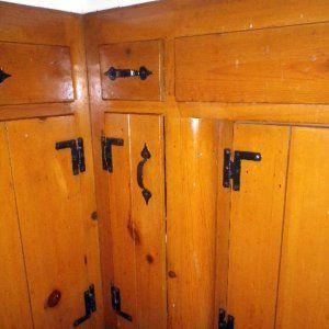 Vintage Knotty Pine Kitchen Cabinets Finally Take The Wd