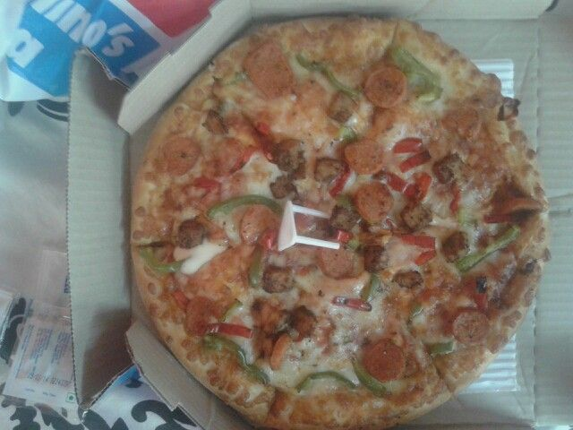 @ newly opened dominos pizza nearby my house.