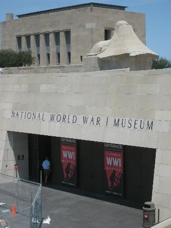 Entrance WW1 museum....a must see