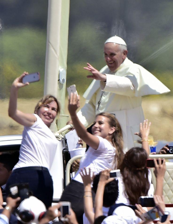10 fotos del papa Francisco en Ecuador