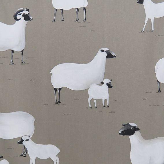 Ba Ba White Sheep col.Ficelle