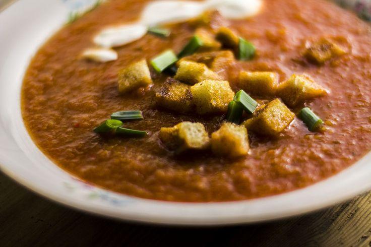 Krem z pomidorów i papryki - Powered by @ultimaterecipe