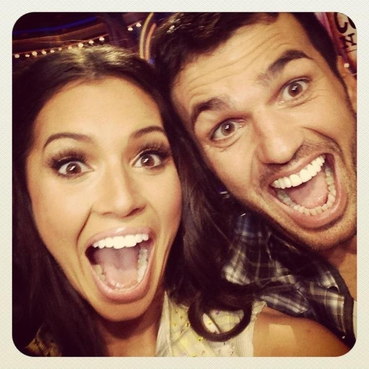 Tony Dovoliani and Melissa Rycroft