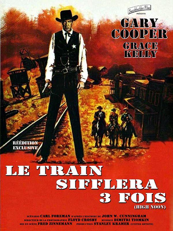 Le train sifflera trois fois (High Noon) est un western américain de Fred Zinnemann sorti en 1952. En 1989, le film est sélectionné pour le National Film Registry par le National Film Preservation Board pour la conservation à la Bibliothèque du Congrès aux États-Unis pour son « importance culturelle, historique ou esthétique », la première année de sa création.