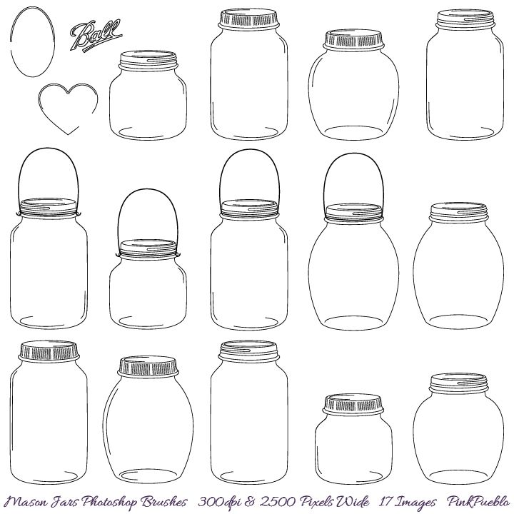 free template of a mason jar | jpg?1345137684