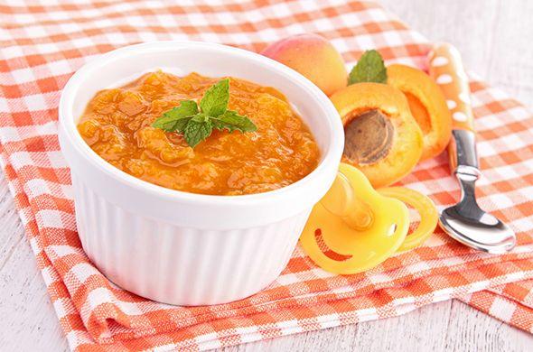 Compote de pêche et abricot au Nutribaby #recette #bébé #babymoov