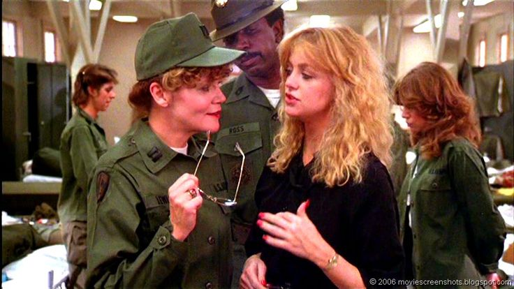 The brilliant actress/comedienne Eileen Brennan ......  Private Benjamin:   One of the funnier scenes in the movie.   Eileen Brennan almost steals the movie from Goldie Hawn.