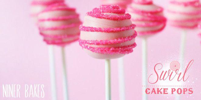 {Round & Round} Fun Swirl Cake Pops Tutorial   niner bakes