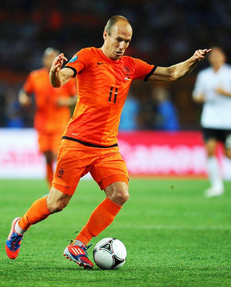 Arjen Robben - Netherlands.