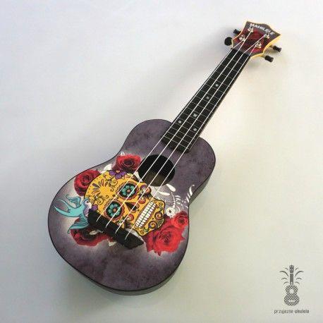 100 best ukulele 3 images on pinterest guitars musical mahilele ukulele soprano czaszka s 30 fandeluxe Image collections