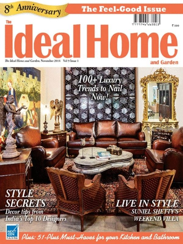 The Ideal Home and Garden India Magazine is all about the home (inside and out of it) and the life you lead around it.  The happiness, the contentment and the peace they talk about in the magazine are all part of the emotion they feel for home. The Magazine is read by Students, Architects, Interior Designers, Manufacturers, Dealers, Designers.