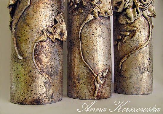 Komplet Blossom - świeczniki dla Joli