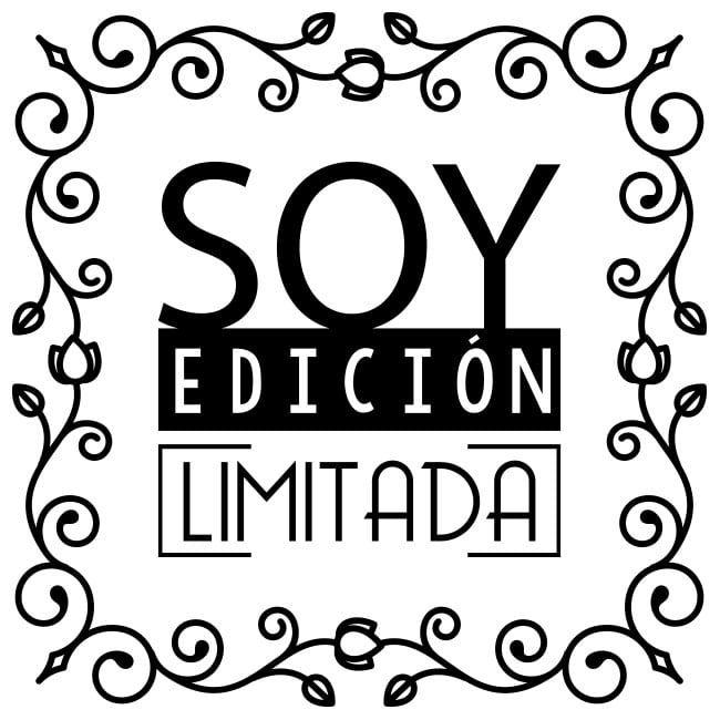 Vinilos Decorativos Frases Edición Limitada Vinilo
