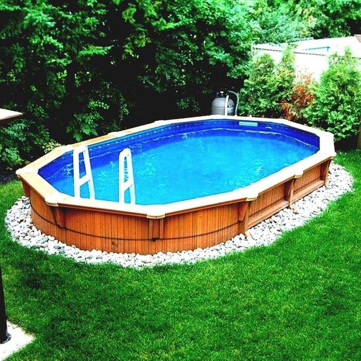 48 Backyard Pool Landscaping Above Ground Beautiful ...