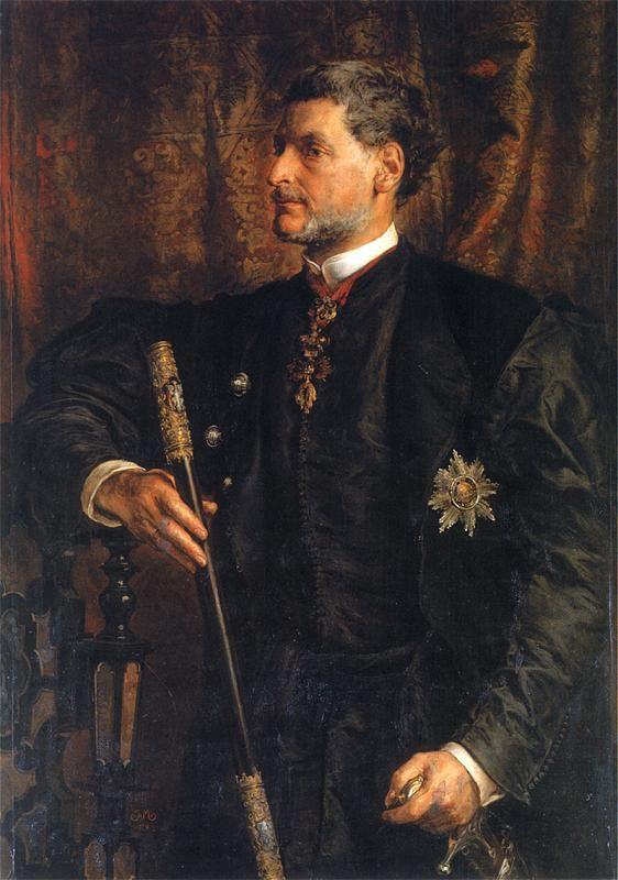 Portrait of Alfred Potocki, 1879  Jan Matejko
