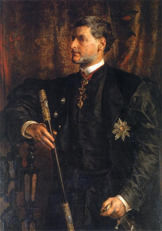 Portrait of Alfred Potocki  - Jan Matejko  1879