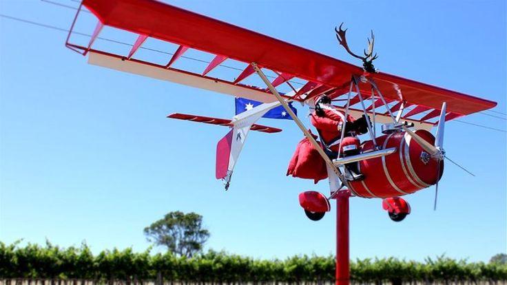 An alternative mode of transport for Santa in the famous #Coonawarra Wine region