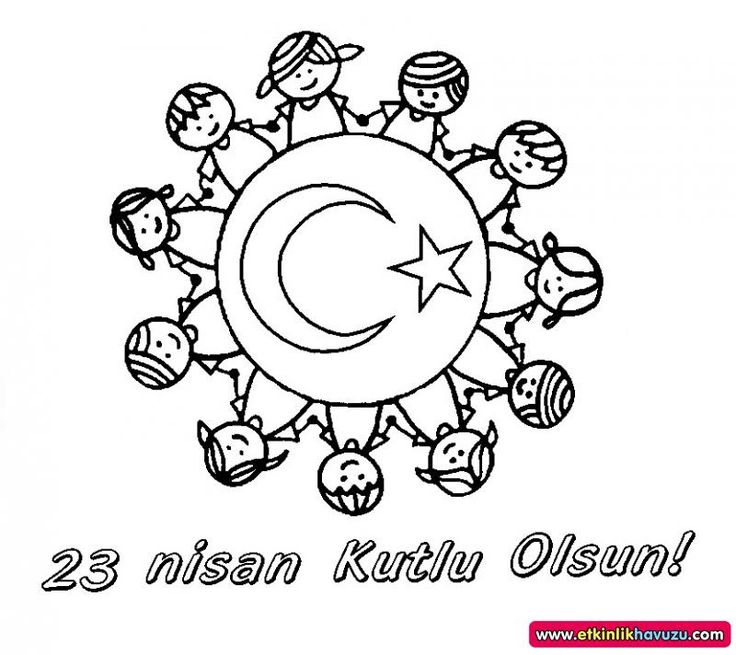 23 Nisan Dünya Çocukları Mandalası